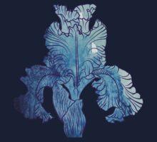Iris flower Baby Tee