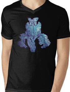 Iris flower Mens V-Neck T-Shirt