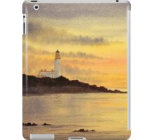 Sunset at Turnberry iPad Case/Skin