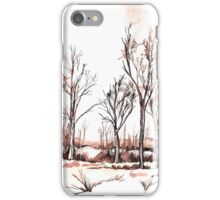 Trees in autumn colours (Suid-Afrika) iPhone Case/Skin