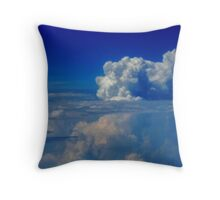 Cloud Above the Clouds Throw Pillow