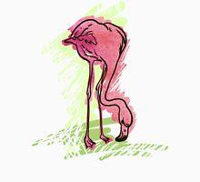 Painted flamingo bird Unisex T-Shirt
