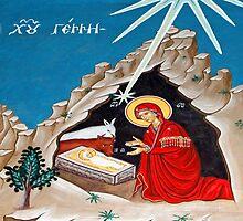 Orthodox Nativity by muniralawi