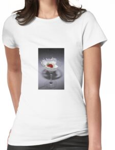 Straberry cocktail Womens Fitted T-Shirt