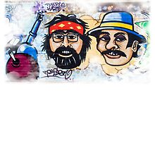 Cheech and Chong Duvet by ArchetypeImages