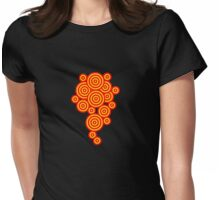 Floral Patterns Womens Fitted T-Shirt