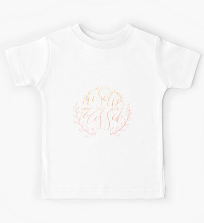 Her Children Rise up and Call Her Blessed -Color Kids Tee