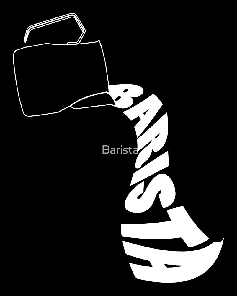 Barista Pitcher by Barista