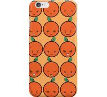 Orange Emotion iPhone Case/Skin