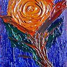 Painted Rose. by Paul Rees-Jones