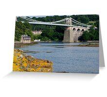 Bridge over the strait Greeting Card