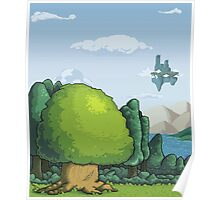 Pixelandscape Poster