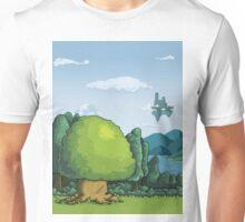 Pixelandscape Unisex T-Shirt