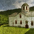 church in the village by Ivan Litovski