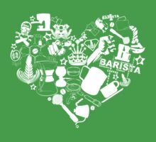 Barista Love Kids Clothes