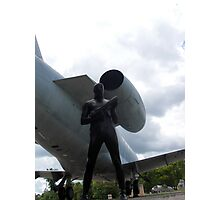 Airforce Way Zentai Set 2 - 3 Photographic Print