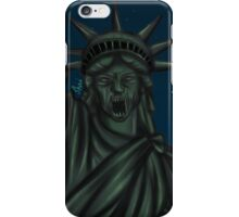 Statue of Liberty-Weeping Angel   iPhone Case/Skin
