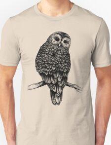 Hand Drawn Owl Unisex T-Shirt