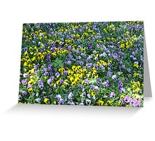 Flower Family Reunion Greeting Card