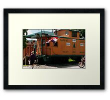 Ginny Goin' for the Ice Cream Framed Print