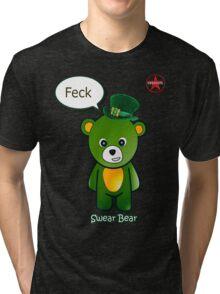 Geek Girl - SwearBear - Feck Tri-blend T-Shirt