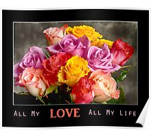 All My LOVE All My Life Poster