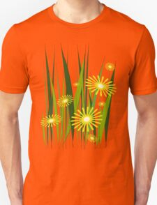 Yellow flowers Unisex T-Shirt