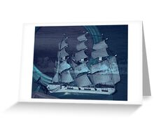 Dream Voyage Greeting Card