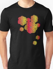 Fire flowers Unisex T-Shirt