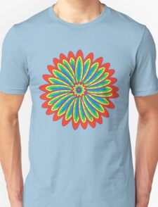 Psychedelic flower T-Shirt