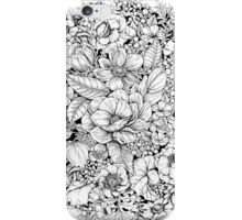 Floral Flower circle  iPhone Case/Skin