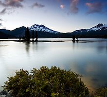 Late Evening on Sparks Lake. Bend, OR by Travis Ingle