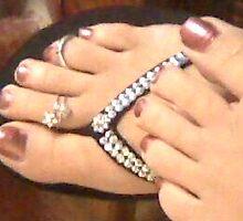 Pretty feet by Kendra Taber