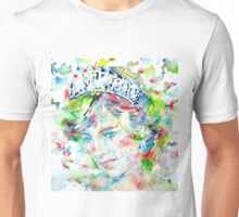 DIANA - Princess of WALES - watercolor portrait Unisex T-Shirt