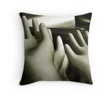 a show of hands Throw Pillow