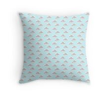 Falas portugues? Wallpaper Throw Pillow
