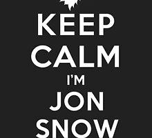Keep Calm I'm Jon Snow (DS) by rachaelroyalty
