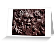 brownstone bacchus Greeting Card