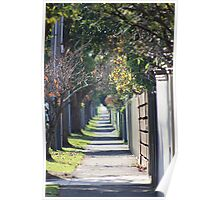 pathway to the burbs Poster