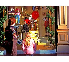 Christmas Window Display - 508 views Photographic Print