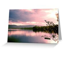 Lake Clear Morning Greeting Card