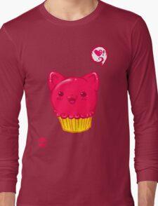 Cupcake Kitty Long Sleeve T-Shirt