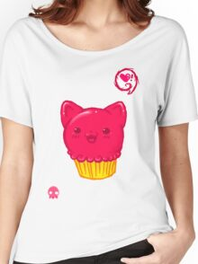 Cupcake Kitty Women's Relaxed Fit T-Shirt