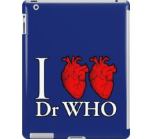 I Heart Heart Dr Who iPad Case/Skin