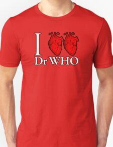 I Heart Heart Dr Who T-Shirt