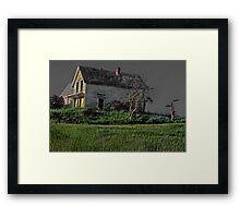 Ode to Edward Hopper--Nova Scotia  Framed Print