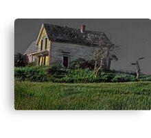 Ode to Edward Hopper--Nova Scotia  Canvas Print