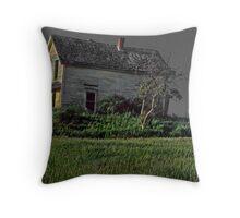 Ode to Edward Hopper--Nova Scotia  Throw Pillow
