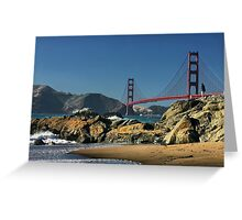 Into the Golden Gate Greeting Card