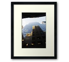 Building Reflections Framed Print